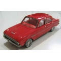 Ace 1962 XL Falcon Futura in red/ red interior 1/43