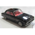 Ace 1962 Falcon XL Futura Sedan in Black with red interior 1/43