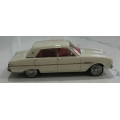 Ace 1962 Falcon XL Futura Sedan, white/red interior 1/43