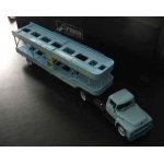 Armco 56 Ford F600 Truck and car trailer 1/43