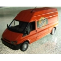 Minichamps Ford Transit van Mirinda orange  1/43