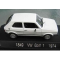 Solido VW Golf 1 white, 1974 1/43