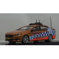 Signal 1 NSW Police HWY Patrol 2016 Falcon XR6 turbo 1/43 LTD.  Victory Gold.
