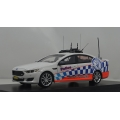 Signal 1 NSW Police HWY Patrol 2016 Falcon XR6 turbo 1/43 LTD. White.
