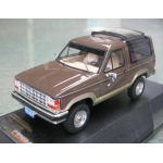 Premium X 1989 Ford Bronco 2 tone browns 1/43