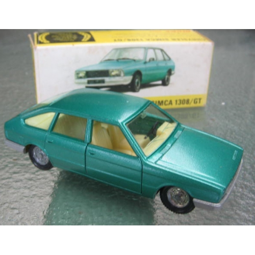 French Dinky 011542 Chrysler Simca 1308 Gt 1 43