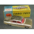 Corgi 229 '60 Chev Corvair gold plated
