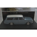 DDA Collectables 1963 EH Holden Special Station wagon, blue/white  1/43