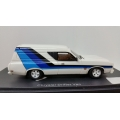Armco Valiant Drifter resin panel van in White 1/43 Discontinued! LTD.