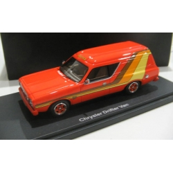 Armco Valiant Drifter resin panel van in Orange 1/43 Discontinued! LTD.