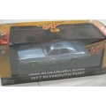 Greenlight 1977 Plymouth Fury Beverly Hills Cop 1/43 ltd.