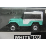 Whitebox Jeep CJ-5 1963 green with white roof 1/43