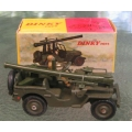 829 French Dinky Jeep with canon