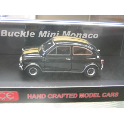 Car Number Plate Maker >> Ace Models Buckle Mini Monaco coupe Black 1/43