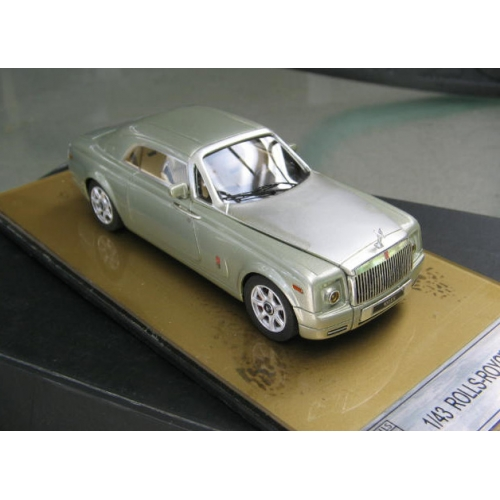 Rolls Royce EX 101 Coupe In Soft Metallic Green High