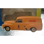 Trax FJ Panel van,  Yellow Coca Cola Code 3 1/43