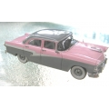 Trax 1958 Ford Customline sedan pink, white and grey 1/43 Rare!