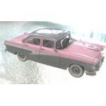 Trax 1958 Ford Customline sedan pink, white and grey 1/43 Rare!