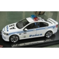 Signal 1 VE  white Commodore SS NSW police car 1/43 LTD  temp out of stock