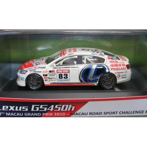 Heron Lexus GS450h 1st Hybrid race car Macau GP 2010 1/43
