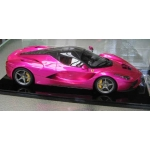 BBR La Ferrari 1/12th scale one of 5 pieces world wide, Flash pink