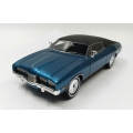 ACETF07B 1975 Ford Landau, Met Blue with vinyl roof, 1/43, M/B