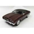 ACETF07M 1975 Ford Landau, Port wine with vinyl roof, 1/43, M/B