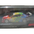 Biante V8 VF Commodore Rainbow, Adelaide sample, white wing 1/43 rare