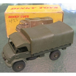 821 French Dinky Mercedes Benz Unimog with canopy
