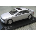 Minichamps BMW 7 series 2001 Silver