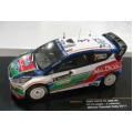 IXO Ford Fiesta RS WRC #3 Winner Swedish Rally 2011 1/43 M/B