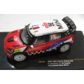 IXO Mini John Cooper works #52 Rally Monte Carlo 2012 1/43 M/B