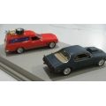 Ace 2 car movie set, HJ van & Nightrider Monaro Coupe 1/64 scale
