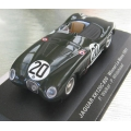 IXO Jaguar XK120 C Type #20 Winner LeMans 1951 1/43 M/B