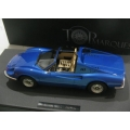 Top Marques 1/12 Ferrari Dino 246 GTS in metallic blue. ltd.100 pieces