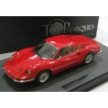 Top Marques 1/12 Ferrari Dino 246 GT in red SOLD