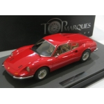 Top Marques 1/12 Ferrari Dino 246 GT in red ltd.100 pieces