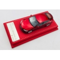 VIP Models Tesla S in metallic Red 1/64 High Quality LTD