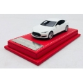 VIP Models Tesla S in white with grey interior 1/64 High Quality LTD