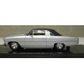 ACE 09E '66 Chevy Nova silver with black vinyl roof, 1/43