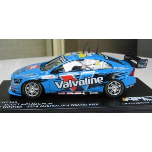 Apex Replicas Volvo S60 #33 GRM 1:43 2015 Scott McLaughlin Bathurst