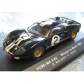 Ixo Ford GT Mk11 #2 Winner LeMans 1966 1/43 M/B
