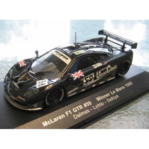 MCLAREN F1 GTR #9  1995 1:43 IXO VOITURE-COLLECTION-DIECAST-GTM065