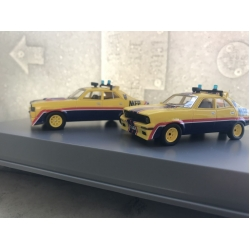 Ace Models XA and XB Falcon Pursuit vehicles from movie 1/64 M/B LTD.