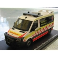 Signal 1 NSW Mercedes Ambulance 2016 Rural 1/43 M/B