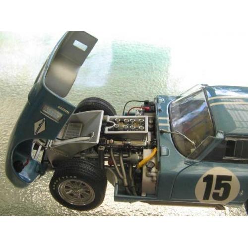 Exoto Cobra Daytona coupe, Gurney lt met  blue 1/18 M/B