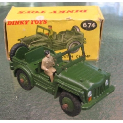 Dinky Toys 674 Austin Champ
