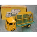 French Dinky 597 33c Simca Glaziers truck yellow/green