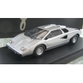 Make Up Co. Japan, Lamborghini Countach LP400 in silver  very limited, 1/43