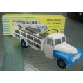 French Dinky 586 Citroen 55 Milk truck with crates